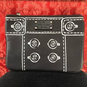 Lovely Kate Spade Clutch/Cosmetic Bag